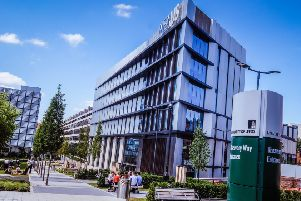Nexus, the innovation and enterprise centre at the University of Leeds.