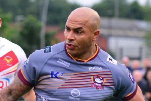 Try machine Wayne Reittie netted three more at Rochdale Hornets. PIC: Marie Caley/JPIMedia
