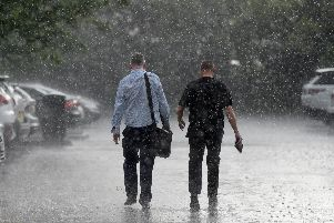 The Met Office say heavy rain on Thursday and Friday could cause flooding.