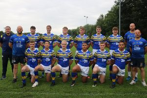 Leeds Rhinos' new intake of professional players (not pictured: Jonah Parsons).