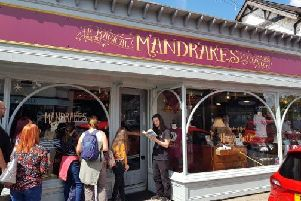 A touch of magic has arrived in Ormskirk, with the opening of a Harry Potter themed cafe