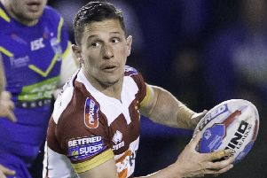 New signing: Morgan Escare will play a part for Wakefield Trinity.