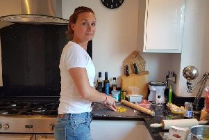 Ele Barker, aged 39 from Otley, features on next week's Come Dine With Me in Leeds
