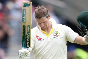 Australia's Steve Smith leaves the field after being dimissed during day four of the Ashes Test match at Edgbaston, Birmingham. (Picture: Nick Potts/PA Wire)