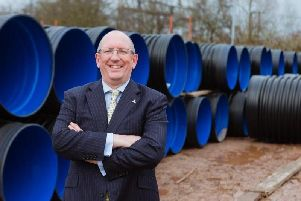 Polypipe's chief executive Martin Payne