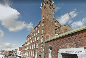 The former Standish Street Mill