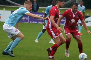 Aaron Wildig will be fit for the game with Cheltenham