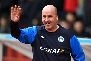 FAREWELL TO LEEDS? Wigan Athletic boss Paul Cook thinks the Whites are finally going up this term. Photo by Tony Marshall/Getty Images.