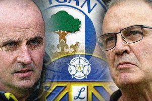 Paul Cook and Marcelo Bielsa.