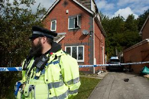 Police re continuing to investigate an arson attack on a house on Stonedene Court, Heckmondwike