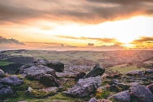 Baslow Edge, captured by Instagram User @Ginosnaps