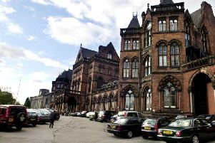 Part of the Leeds General Infirmary site is included in the plans.