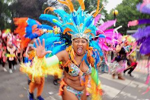 Photo from last year's Leeds Carnival 2018.