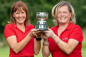 Lorraine Birch and Julie Norcliffe (photo: Leaderboard Photography)