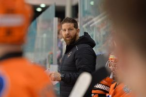 POSITIVE IMPACT: 'Sheffield Steelers' head coach and GM, Aaron Fox.  'Picture: Dean Woolley