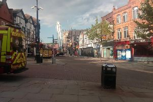 Emergency services in Market Place