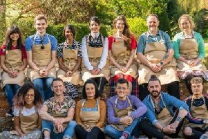 The 2019 Bake Off contestants.