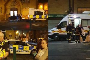 Photos of the incident submitted