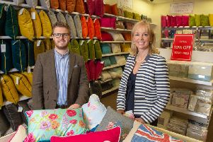 Ed Banfield, Retail Director, Riva Home and Helen Green, Associate'Director for Town Centre Securities.