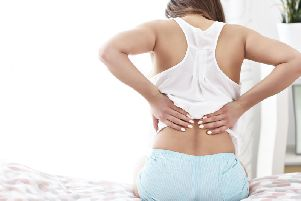 Dealing with back pain