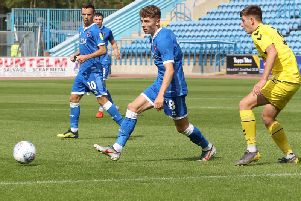 Former Carlisle youngster Josh Galloway became a Leeds United player today. (Pic: Barbara Abbott)