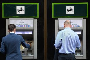 Lloyds Banking Group has announced a major deal this morning.  Photo : Stefan Rousseau/PA Wire