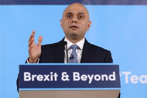 Chancellor Sajid Javid is due to announce details of his Spending Review on Wednesday. Picture by Rick Findler/PA Wire.