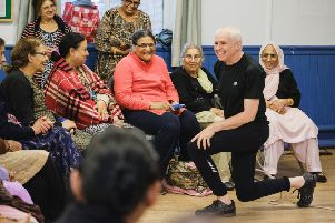 ROLE: Arts Together Leeds wants to strengthen relationships between community groups and the cultural sector. Picture: Tom Arber.