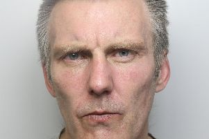 Trent Finney punched and threatened to stab disabled man near to Wakefield city centre
