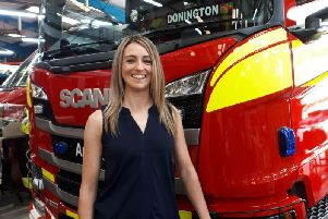 Rachel Dowling-Brown is the production manager at the UKs oldest fire vehicle manufacturer, Angloco, based in Batley.