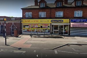 Peter Bleasby racially abused security guard and threatened to attack him with hammer at Heron Foods, Harehills Lane.