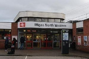 Rush hour travel disruption for Wigan commuters