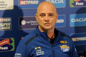 New Leeds Rhinos head coach Richard Agar. Picture: Simon Hulme.