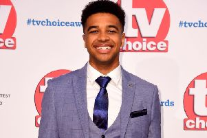 Emmerdale actor Asan N'Jie who has been fired from the ITV soap after becoming embroiled in a fight with Hollyoaks star Jamie Lomas at the TV Choice Awards on Monday night. Photo: Matt Crossick/PA Wire
