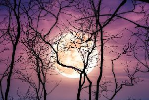 Friday 13 is spooky enough already, but this year a harvest full moon will accompany the superstitious day