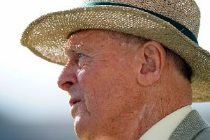 Former cricketer Geoffrey Boycott during day two of the fifth test match at The Oval, London. (Picture: John Walton/PA Wire).
