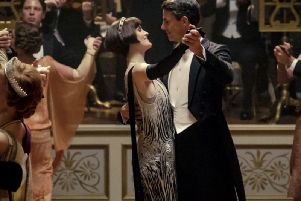 The ballroom scene in the Downton Abbey film was shot at Wentworth Woodhouse in Rortherham. Credit: Screen Yorkshire.