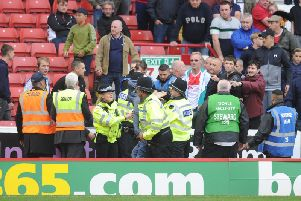 Leeds United's victory over Barnsley marred by crowd trouble.