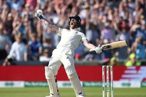 How he should be remembered - Ben Stokes wins the third Ashes Test at Headingley.