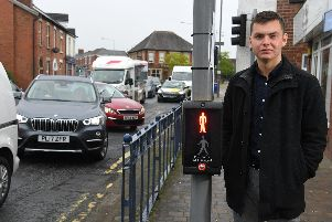 """Coun. Matthew Trafford, a Lostock Hall councillor, is asking highways bosses to review six """"dangerous"""" road crossings, including the one outside The Wishing Well pub."""