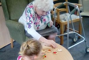Bowland-preschool youngsters form a friendship with senior citizens