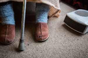 Many elderly people ration their heating over winter