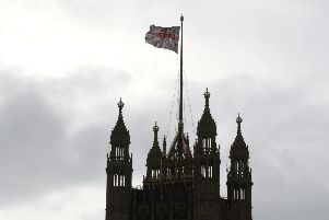 A Union flag flying from the Houses of Parliament in Westminster, after judges at the Supreme Court ruled that Prime Minister Boris Johnson's advice to the Queen to suspend Parliament for five weeks was unlawful.