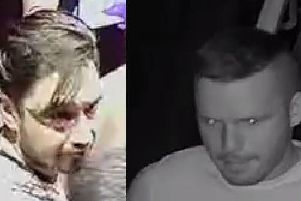 Police want to speak to these men in connection with a sex attack on an 18-year-old woman