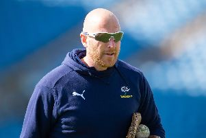 Yorkshire head coach Andrew Gale