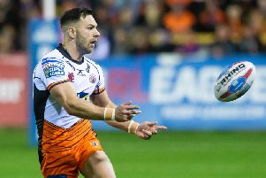 Castleford Tigers' Luke Gale is set to be confirmed as a Leeds Rhinos player (PIC: SWPIX)