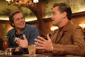 Scene from Once Upon a Time in Hollywood