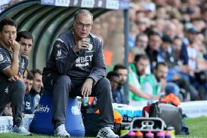 Leeds United manager Marcelo Bielsa. Picture: Richard Sellers/PA