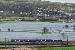 Flooding is affecting trains between Shipley and Leeds