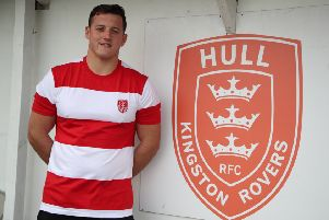 New Rovers signing Matty Gee. Picture: Tony Foster/Hull KR